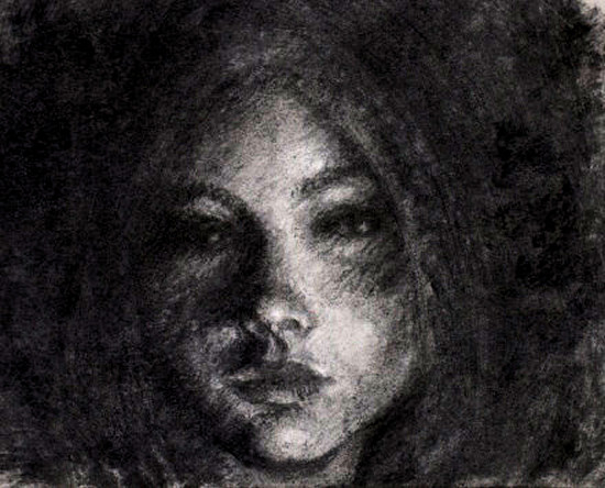 Draw Texture with Charcoal