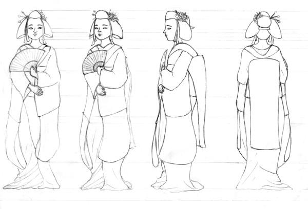 Drawing a Character Model Sheet