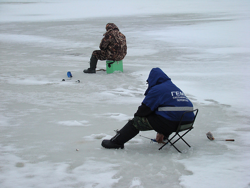 Ice Fish for Bass
