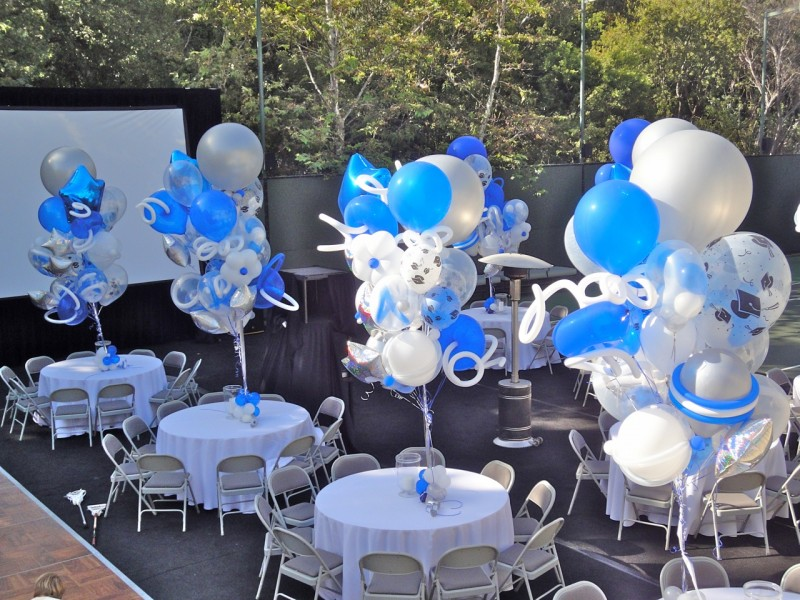 Balloon Decorations Table Centerpiece : How to do balloon decorations party favors ideas