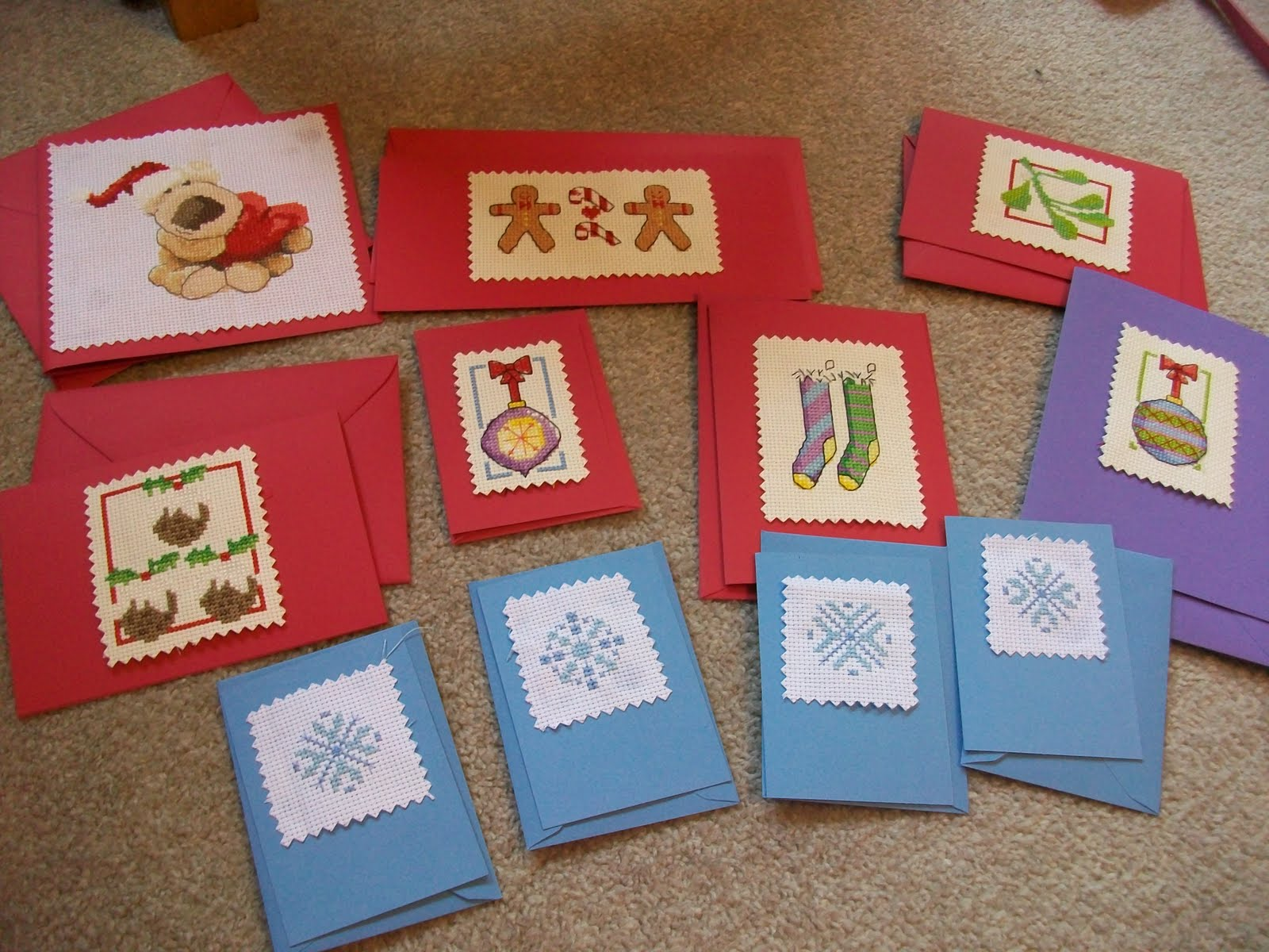 Cross-Stitch Greeting Cards