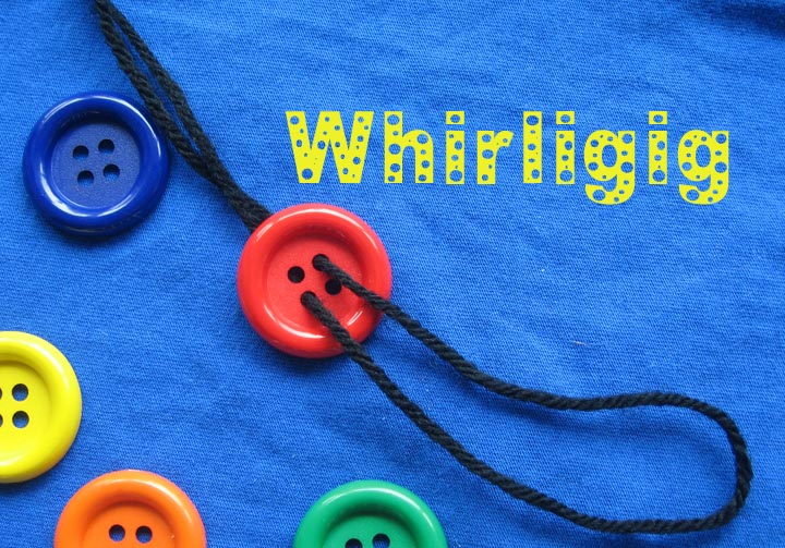 Button and String Whirligig