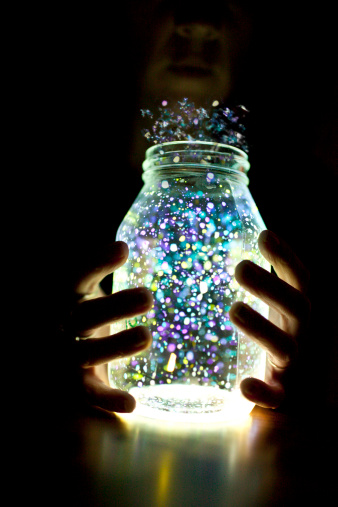 Glowing Fairy Jar