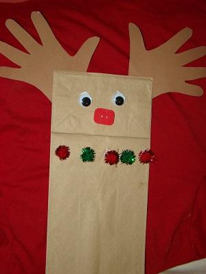 Paper Bag Hand Puppet