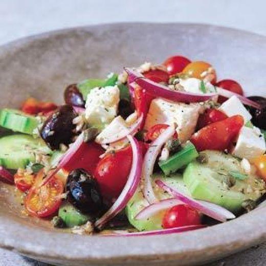 Authentic Mediterranean Salad