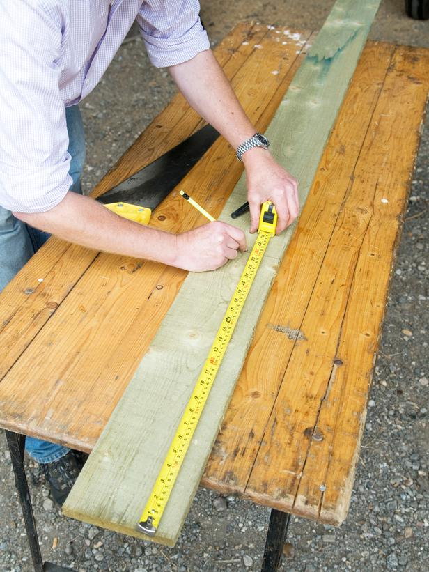 Measuring Wood for Cutting