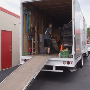 how to move a refrigerator in a truck. Black Bedroom Furniture Sets. Home Design Ideas