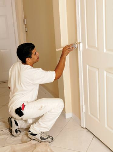 Painting a Stained Door