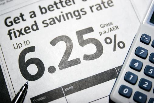 Savings advert