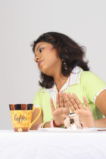 Woman Refusing to eat