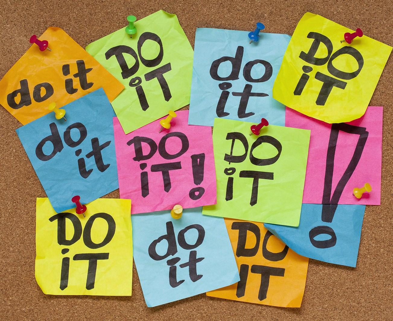 Avoid procrastination
