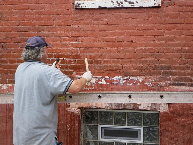 Removing Paint from Bricks