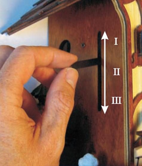 Setting a Cuckoo Clock