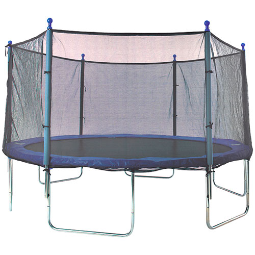 Turn a Trampoline into a Wrestling Ring