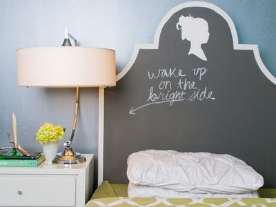 Chalkboard Painted Wood