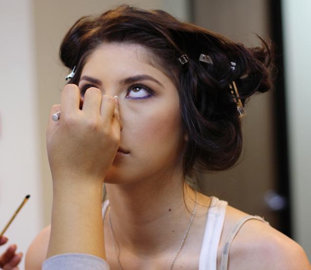Wear Purple Eyeliner