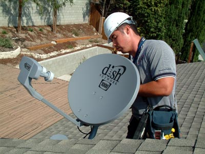 Wiring a Satellite Dish