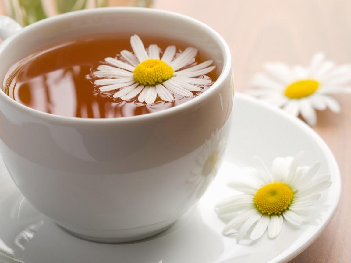 homemade chamomile tea