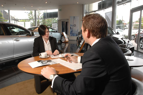 Negotiating with a cae sales person
