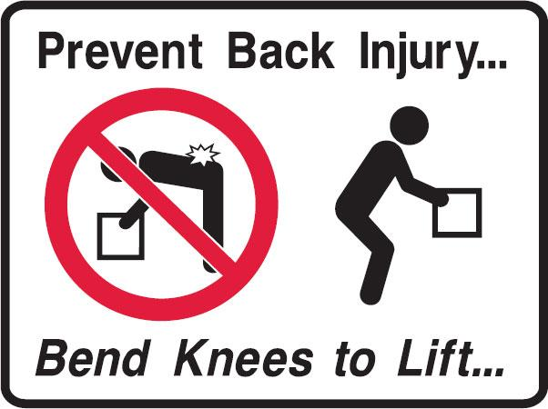 Prevent Back Injury