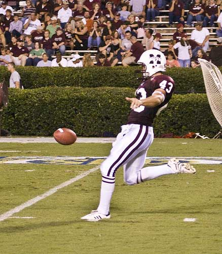 Punting in Football