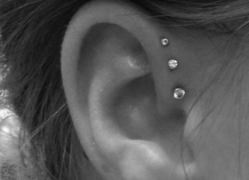 Stretch Cartilage Piercings