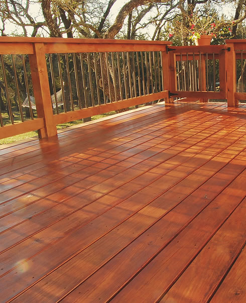 A Refinished Deck
