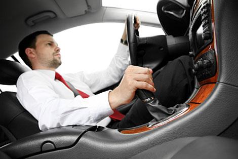 Driving a stick shift