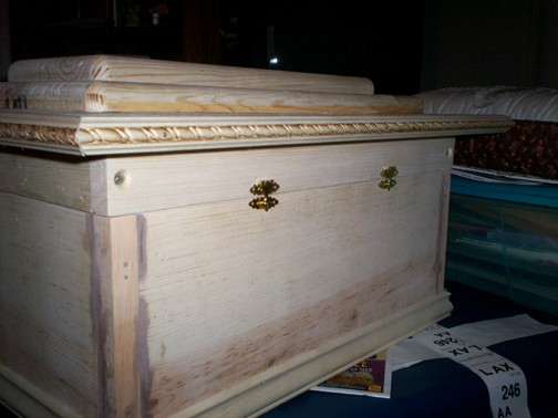 Casket for a Dog