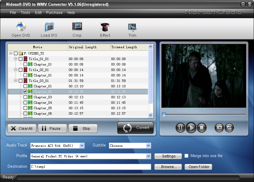 Converting Video to WMV