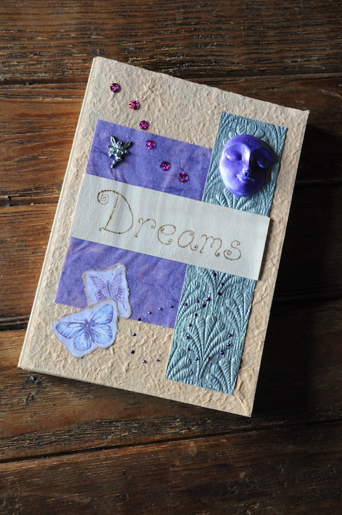 A decorated journal book