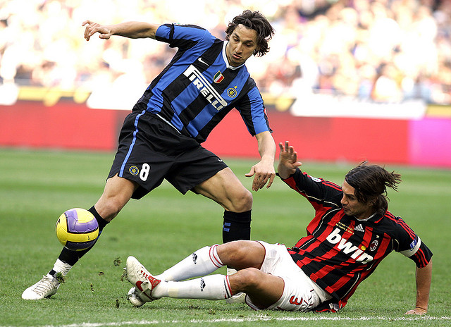 Maldini tackles Ibrahimovic