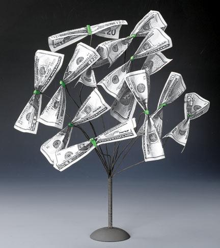 Money Gift Tree