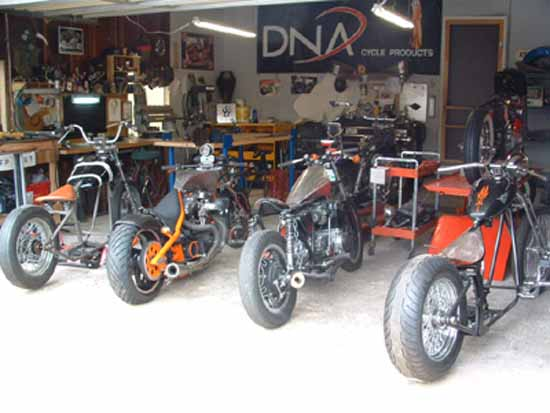 Motorcycle Repair Shop