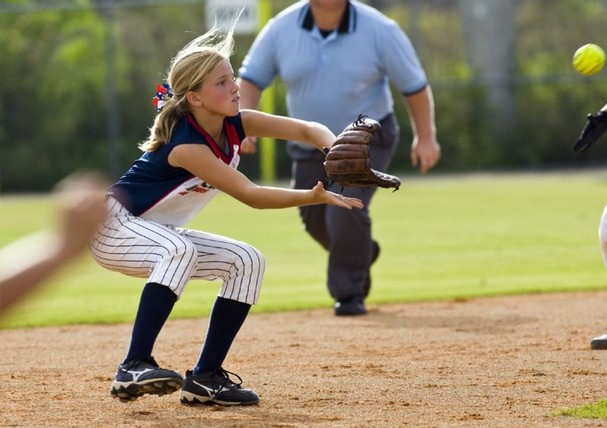 Shortstop in Softball