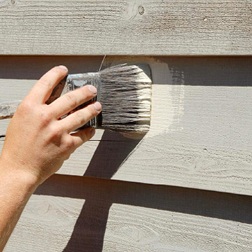 How to Prepare Wood Siding for Painting