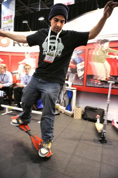 Ali Kermani demonstrates the Ripstick