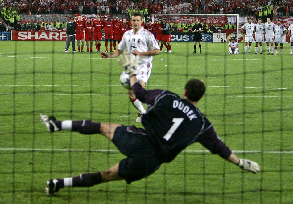 Saving penalties in soccer