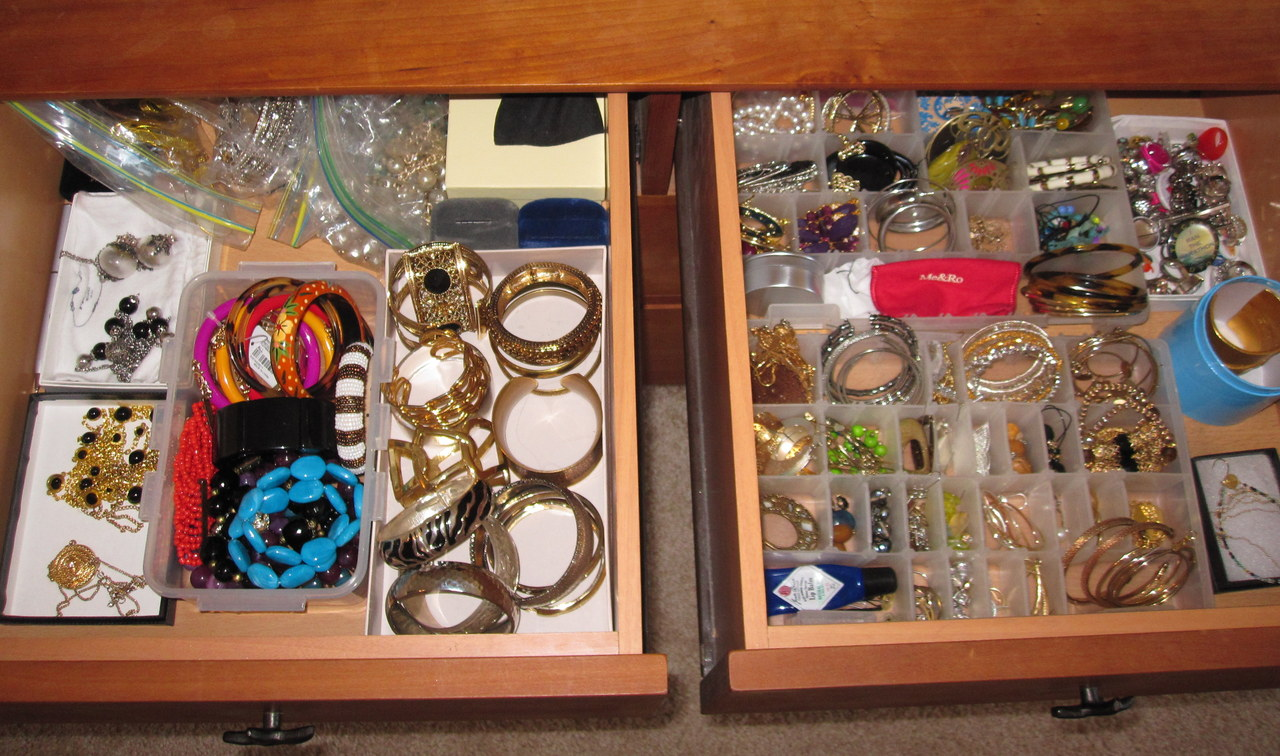 Jewelry in a Drawer