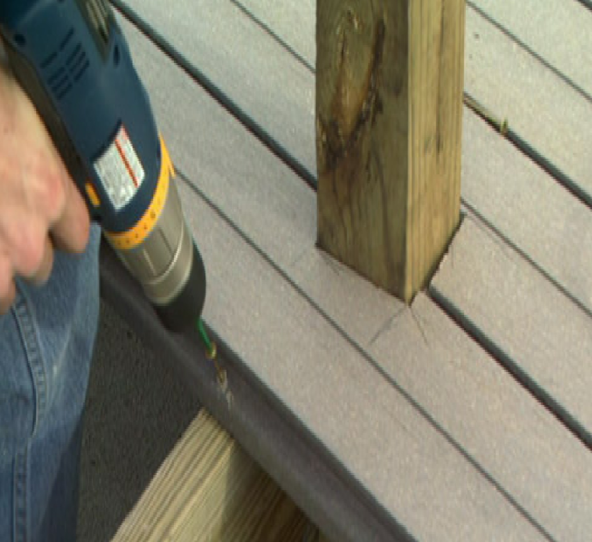 How to Fasten Deck Boards
