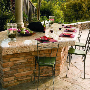 How to Build an Outdoor Countertop