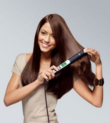 Caring for straight hair