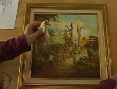 How to Clean an Oil Painting at Home
