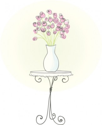 How To Draw Vase Rose