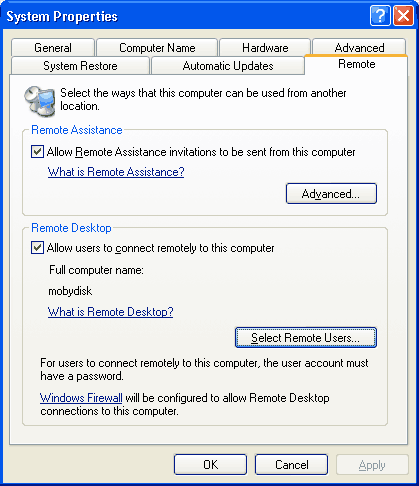 How to Enable Remote Access on Windows XP