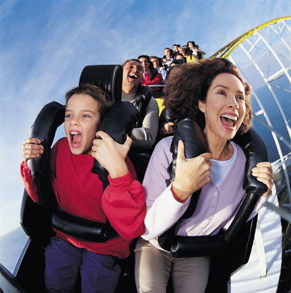 How to Have Fun on a Roller Coaster