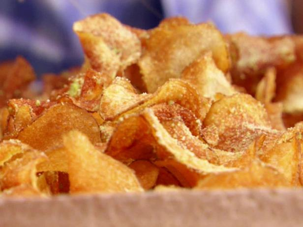 how to prepare potato chips at home in telugu