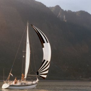 How to Stop a Sailboat under Sail