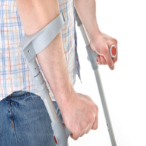Elbow Crutches on Stairs