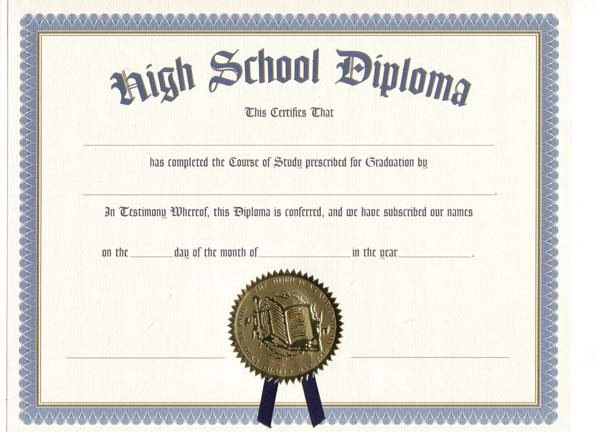 Highschool Diploma